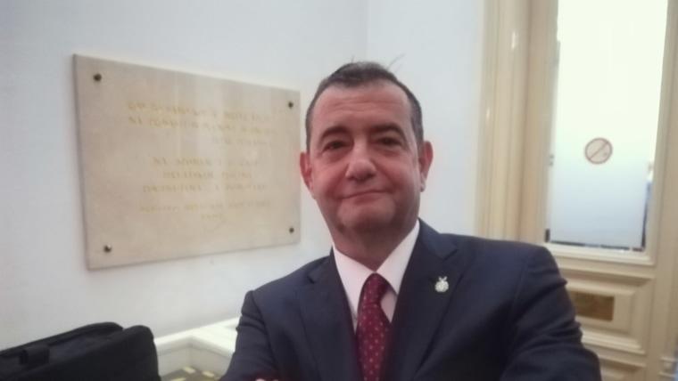 Escritor chileno Andrés Morales Milohnić (Foto: David Rey - La Voz de Croacia)
