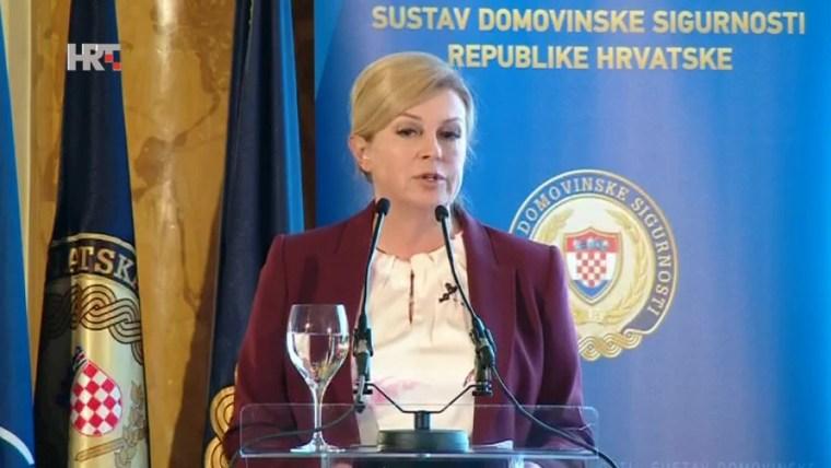 Kolinda Grabar-Kitarović (Foto: HRT)