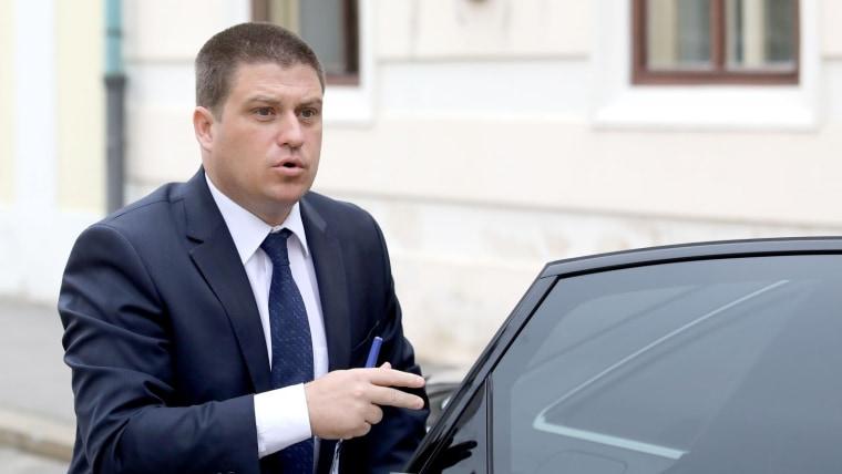 Vekehrsminister Oleg Butković (Foto: HRT)
