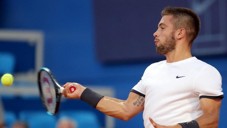 Der kroatische Tennisspieler Borna Ćorić (Foto: Goran Stanzl_PIXSELL)