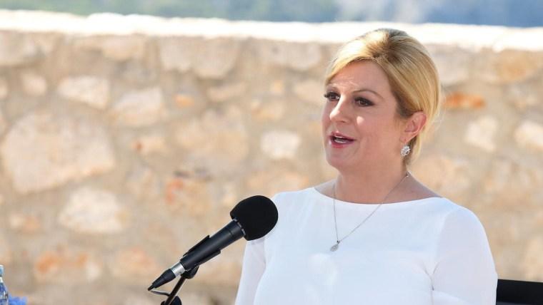 Die kroatische Präsidentin Kolinda Grabar-Kitarović (Foto: Dusko Jaramaz_PIXSELL)