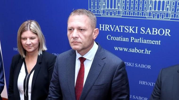 Croatian Peasant Party leader Krešo Beljak (Photo: Patrik Macek/PIXSELL)