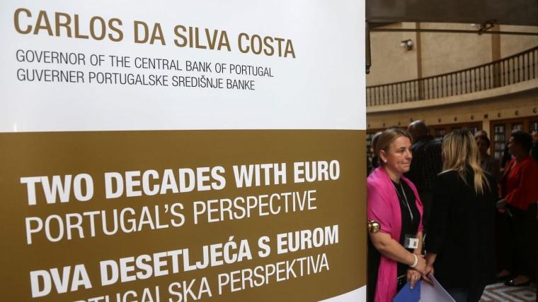 Vortrag zum Thema Zwei Jahrzehnte in der Eurozone (Foto: Marin Tironi/PIXSELL(