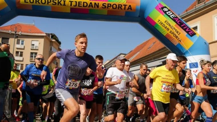 5. europäische Sportwoche in Zagreb eröffnet (Foto: Filip Kos/PIXSELL)