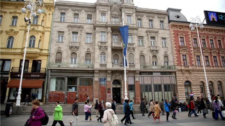 Die Gesellschaft der kroatischen Schriftsteller in Zagreb (Foto: HINA)
