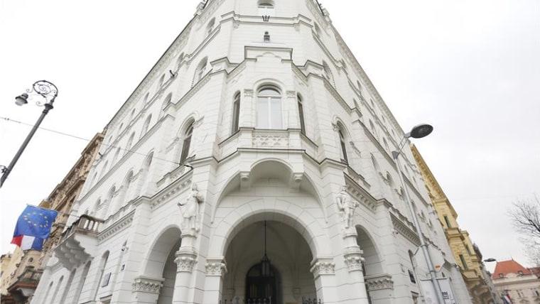 Die Kroatische Bank für Wiederaufbau und Entwicklung HBOR in Zagreb (Foto: HINA)