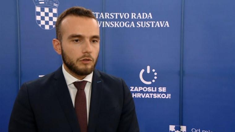 Minister für Arbeit und Rentensystem Josip Aladrovic (Foto: HRT)