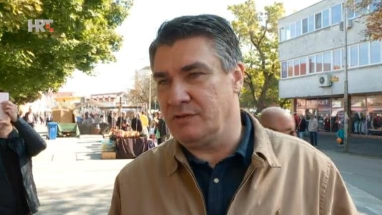 Präsidentschaftskandidat Zoran Milanović (Foto: HRT)
