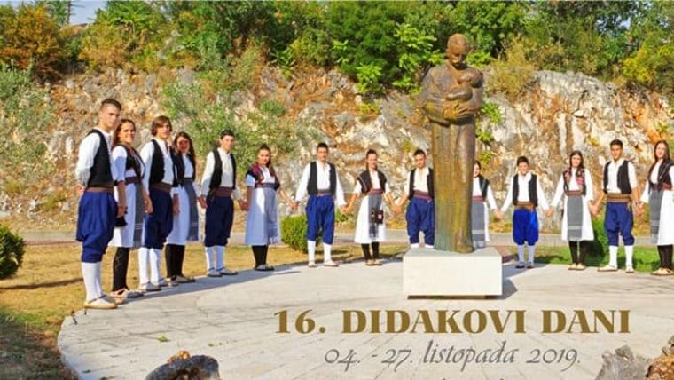 (Foto: Didakovi dani/ Službena Facebook stranica)