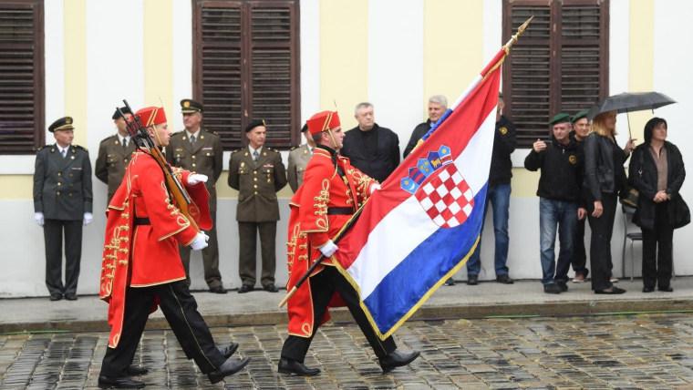 Ceremonija Velike smjene straže. (Foto: Marko Lukunić/ Pixsell)