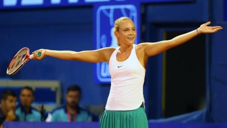 Die kroatische Tennisspielerin DonnaVekić(Foto:JuricaGaloic_PIXSELL)
