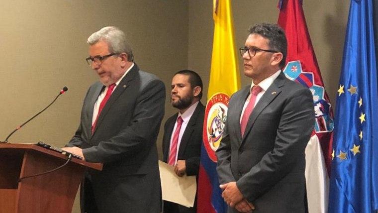 Inauguracija hrvatskoga konzula u Bogoti Mauricija Restrepa Gómeza (Foto: Glas Hrvatske)