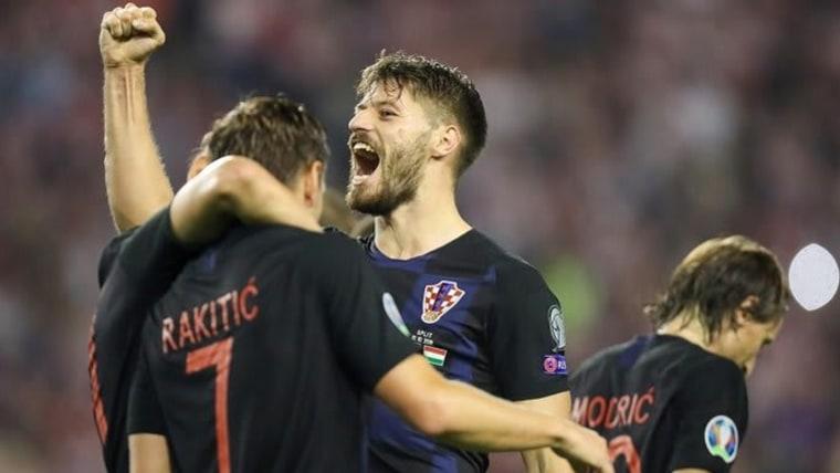 Kroatien gegen Wales (Foto:Slavko Midzor/PIXSELL)