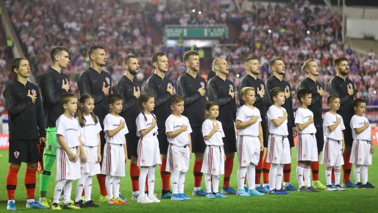 Croatian national football team (Photo: Slavko Midzor/PIXSELL)