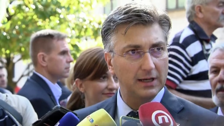 Prime Minister Andrej Plenković (Photo: Tomislav Miletic/PIXSELL)