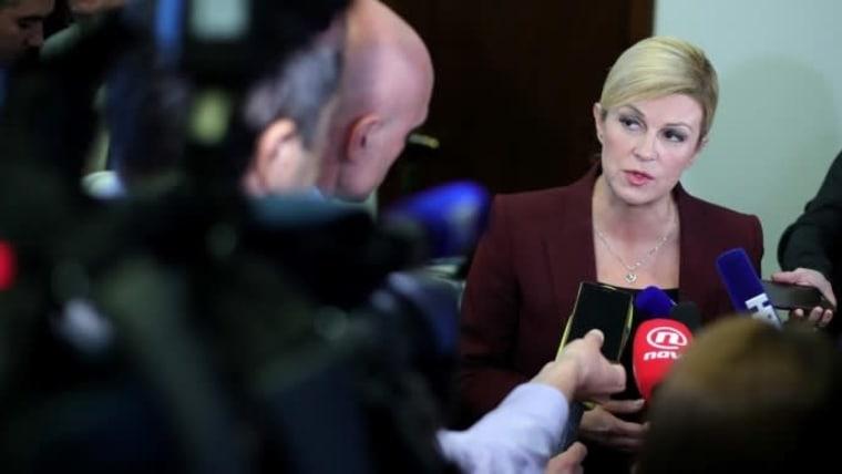President Kolinda Grabar-Kitarović (Photo: Sanjin Strukic/PIXSELL)
