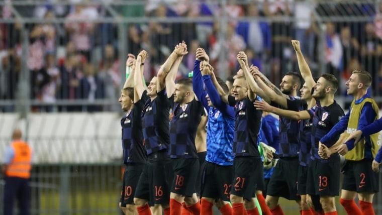 Selección croata (Foto: Igor Soban/PIXSELL)