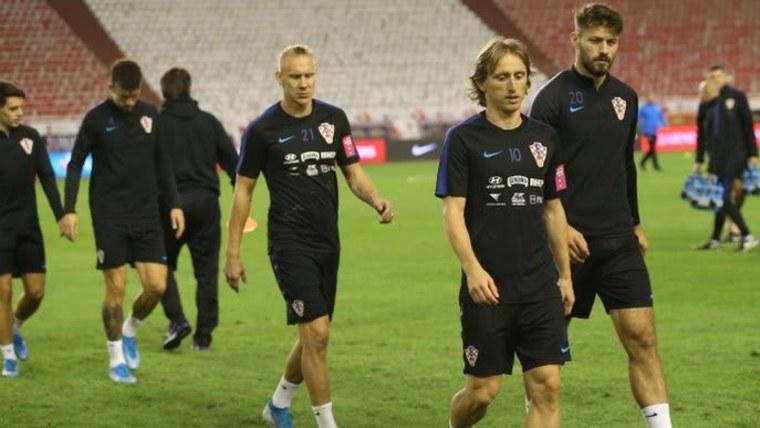 Die kroatische Fußballnationalmannschaft (Foto: Ivo Cagalj/PIXSELL)