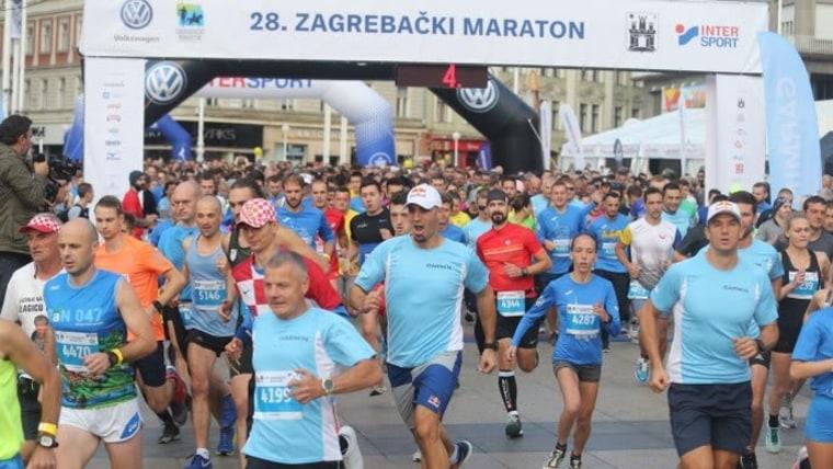 28. Zagreb Marathon (Foto: Dalibor Urukalovic/PIXSELL)