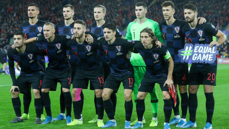 Croatian national team (Photo: Sanjin Strukic/PIXSELL)
