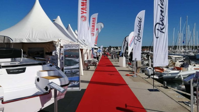 A scene from the 21st Biograd Boat Show (Photo: Vladimir Šetka/HRT)