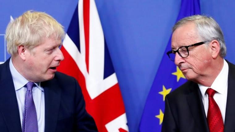 Der britische Premier Boris Johnson und der EU-Kommissionspräsident Jean-Claude Juncker (Foto: REUTERS/Francois Lenoir)