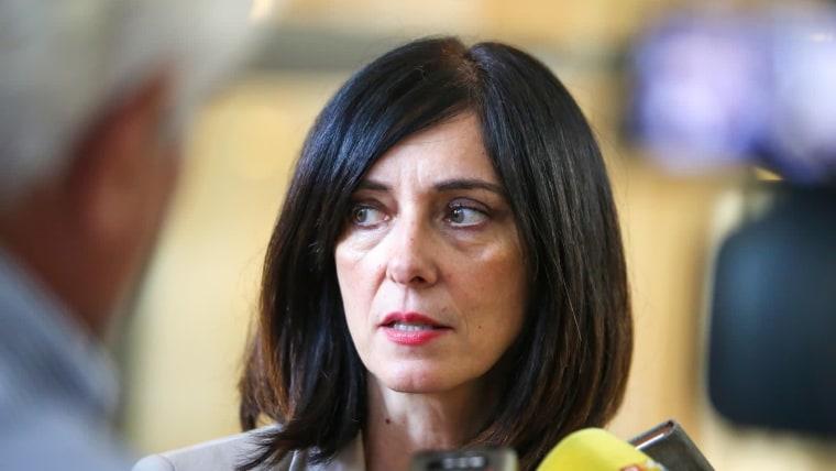 Ministra de Ciencias y Educación, Blaženka Divjak (Foto:Ivo Cagalj/PIXSELL)