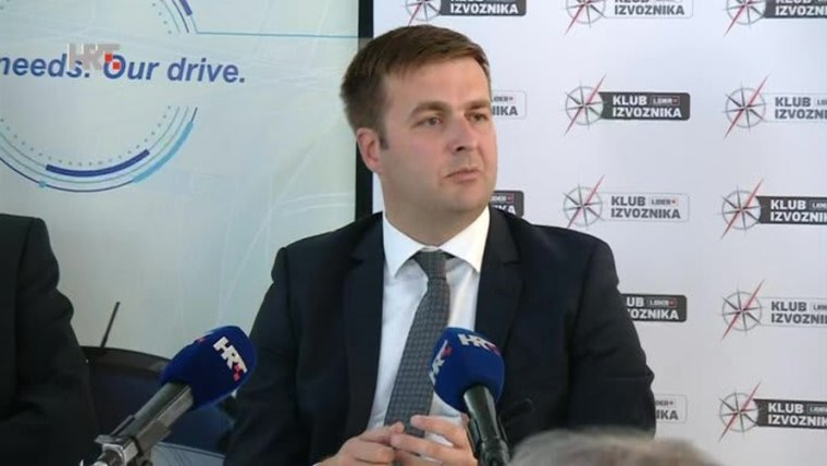 Umweltminister Tomislav Ćorić (Foto:HRT)