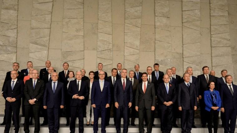 Treffen der NATO Verteidigungsminister n Brüssel (Foto: Johanna Geron/REUTERS)