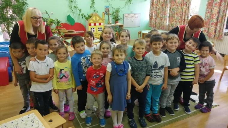 Predškolska skupina u voćinskome vrtiću Jelenko (Foto: Tomislav Šikić/Glas Hrvatske)