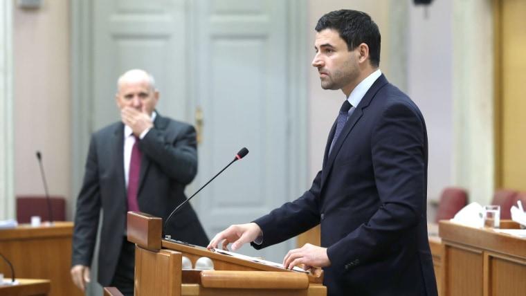 Davor Bernardić, SDP-Chef  (Foto: Patrik Maček/Pixsell)