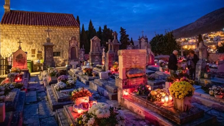 Dubrovačko groblje na Boninovu. (Foto: Grgo Jelavić/ Pixsell)