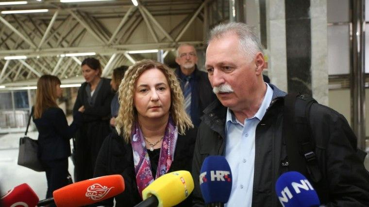 Reunión entre sindicatos docentes y Gobierno (Foto: Matija Habljak/PIXSELL)