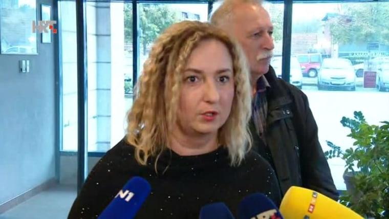 Teacher's Union representative Sanja Šprem (Photo: HRT)