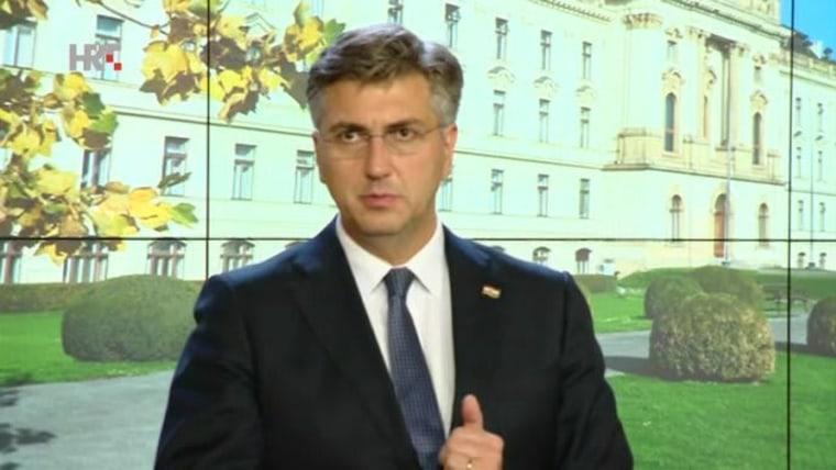 Premier Plenković en Praga (Foto: HRT)