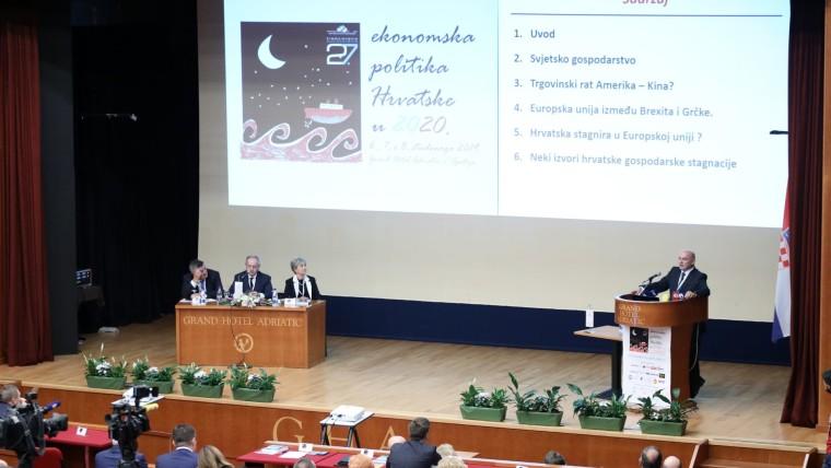 Conferencia sobre la Economía Croata (Foto: Nel Pavletic/PIXSELL)