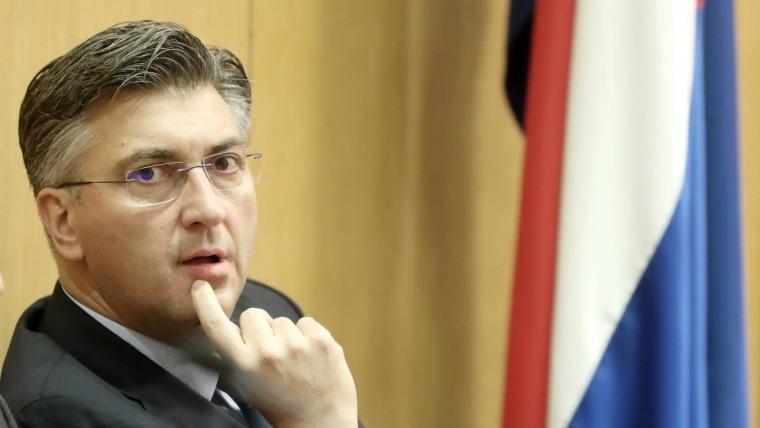 Presidente del Gobierno, Andrej Plenković (Foto: Sanjin Strukic/PIXSELL)