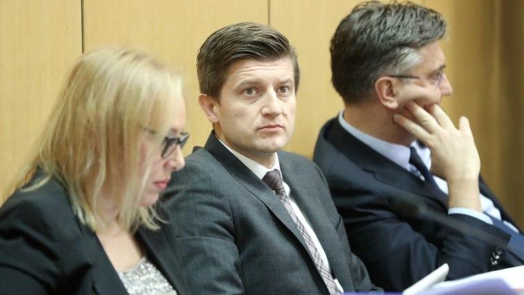 Deputy Prime Minister and Finance Minister Zdravko Marić (Photo: Sanjin Strukic/PIXSELL)