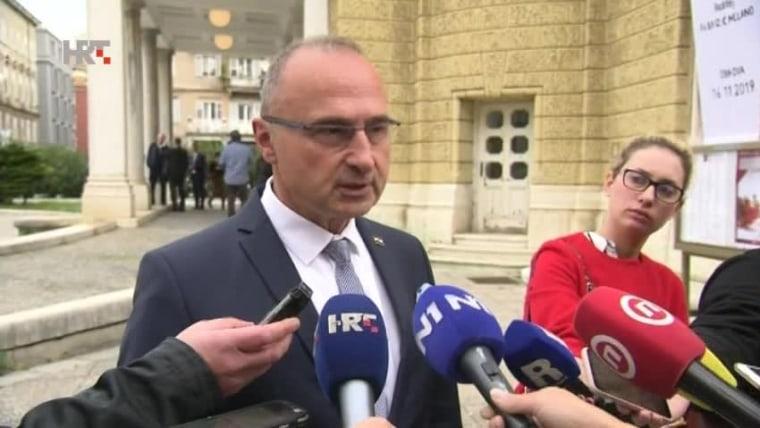 Minister of Foreign and European Affairs Gordan Grlić Radman (Photo: HRT)