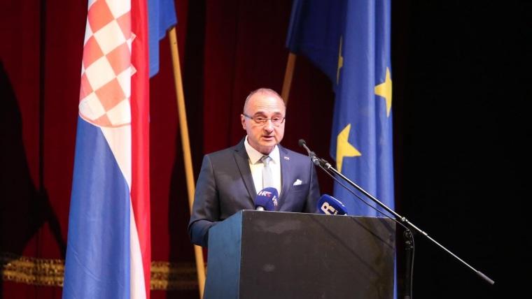 Ministro Gordan Grlić Radman (Foto: Goran Kovacic/PIXSELL)
