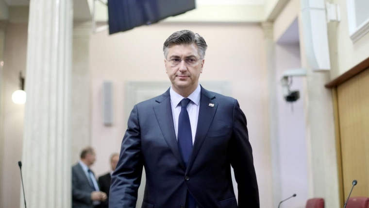 Prime Minister Andrej Plenković (Photo: Sanjin Strukic/PIXSELL)
