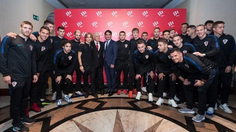 Die kroatische Fußballnationalmannschaft (Foto: HRT)