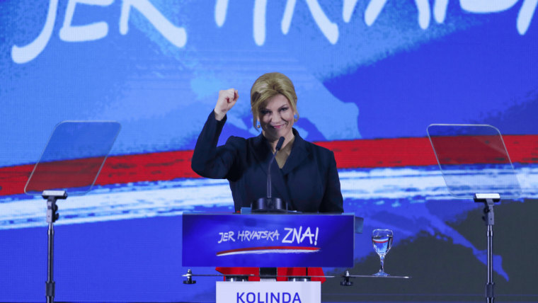 Kolinda Grabar Kitarović (programa) (Foto  Igor Soban / PIXSELL)