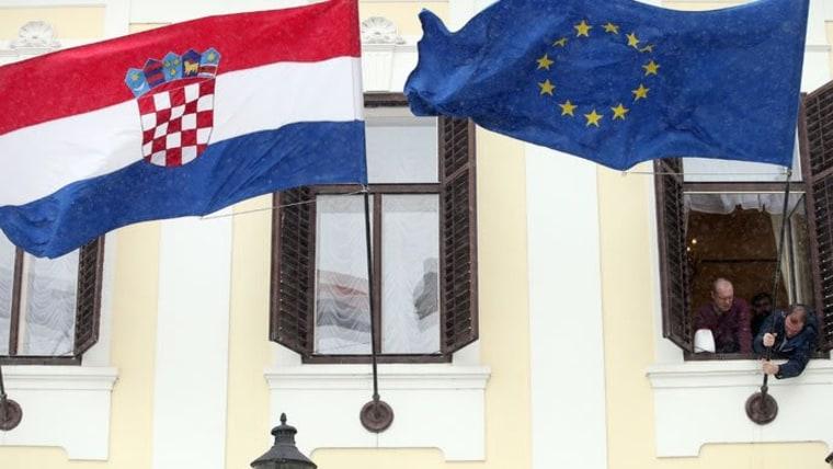 Regierungsgebäude auf den Markusplatz in Zagreb (Foto: Goran Stanzl/PIXSELL)