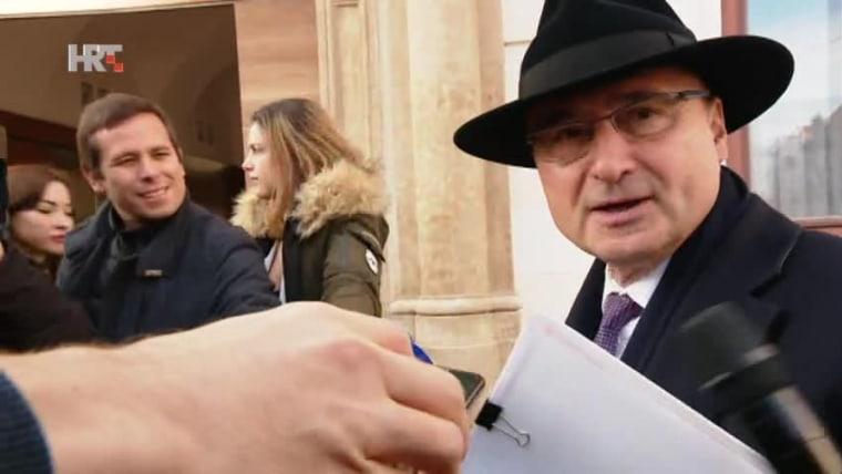 Foreign Minister Gordan Grlić Radman (Photo: HRT)