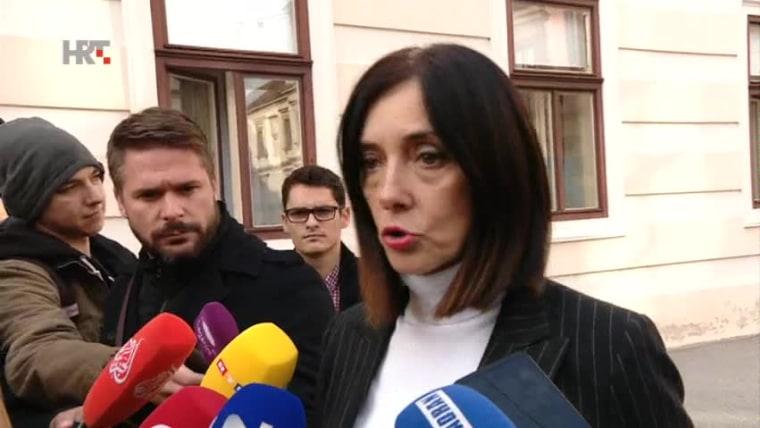 Bildungsministerin Blaženka Divjak (Foto: HRT)