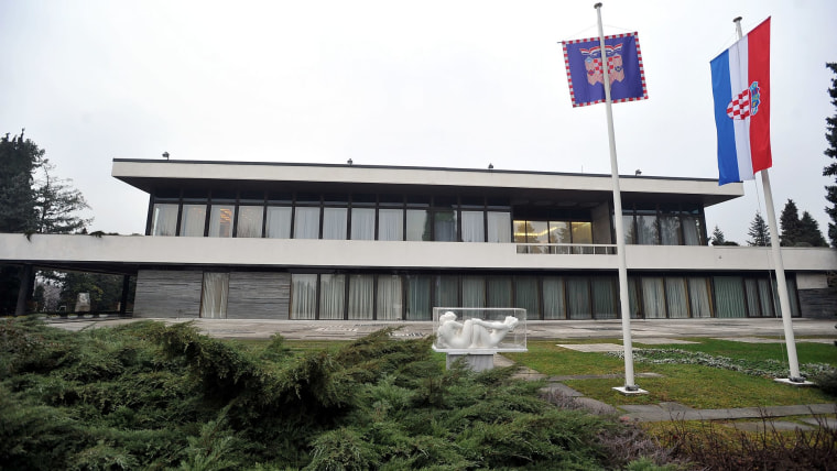 The Office of the President of the Republic of Croatia (Photo: Goran Stanzl/PIXSELL)