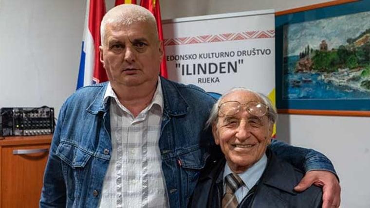 Nikola Šimić Tonin i Giacomo Scotti (Foto: privatna arhiva/s dopuštenjem)