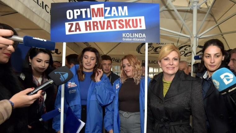 Kolinda Grabar Kitarović irá por la reelección (Foto: Dino Stanin/PIXSELL)