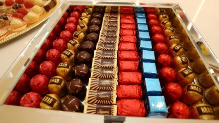 A box of Kraš confections (Matija Habljak/PIXSELL)